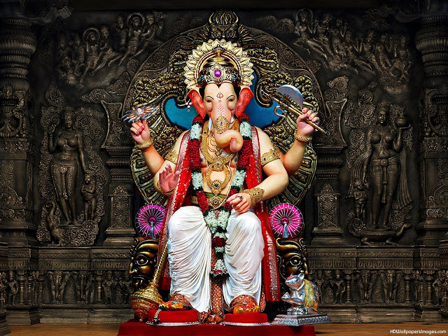 Lord Ganesh+Wallpapers