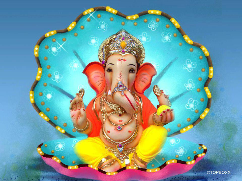 Lord Ganesha 3D Wallpapers Free Download