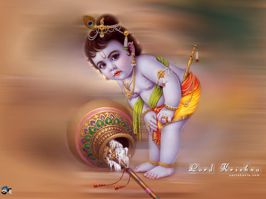 Lord Krishna Baby Wallpapers