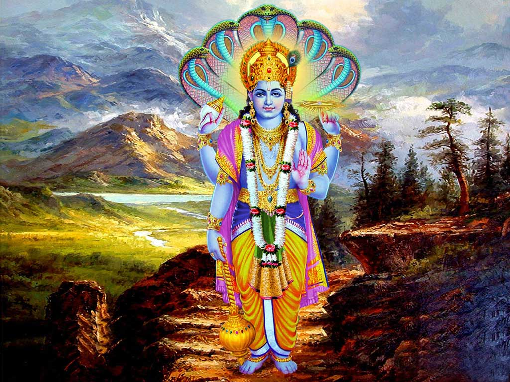 Lord Mahavishnu Pictures And Wallpapers