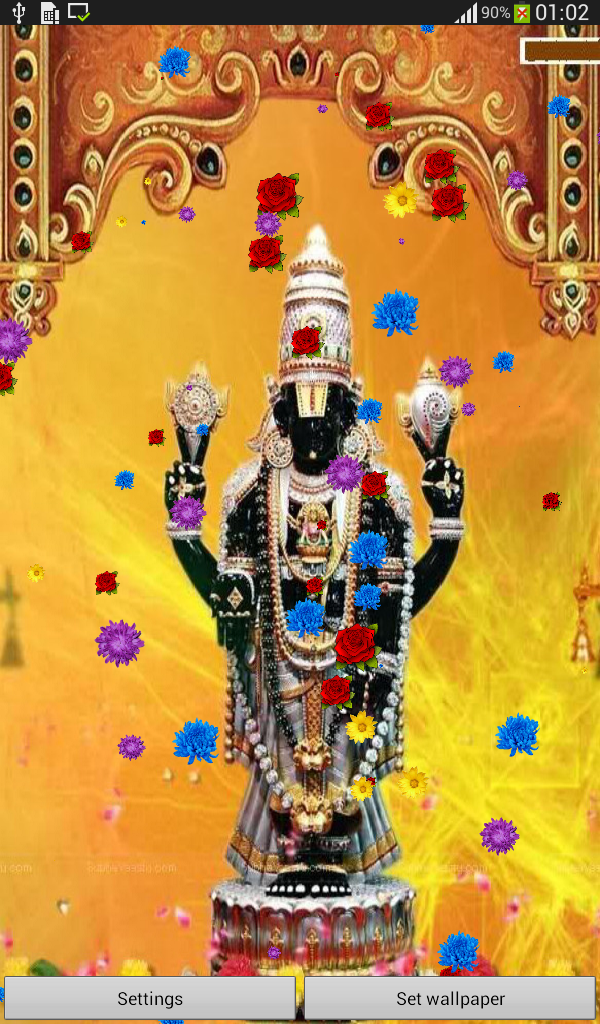 Lord Venkateswara Live Wallpaper