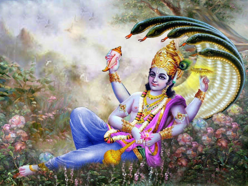 Lord Vishnu High Resolution Wallpapers