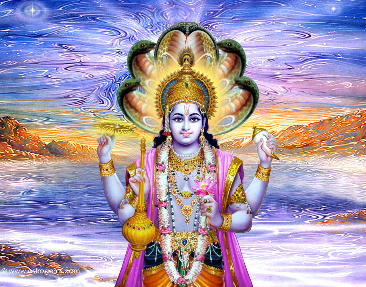 Lord Vishnu Wallpapers Download