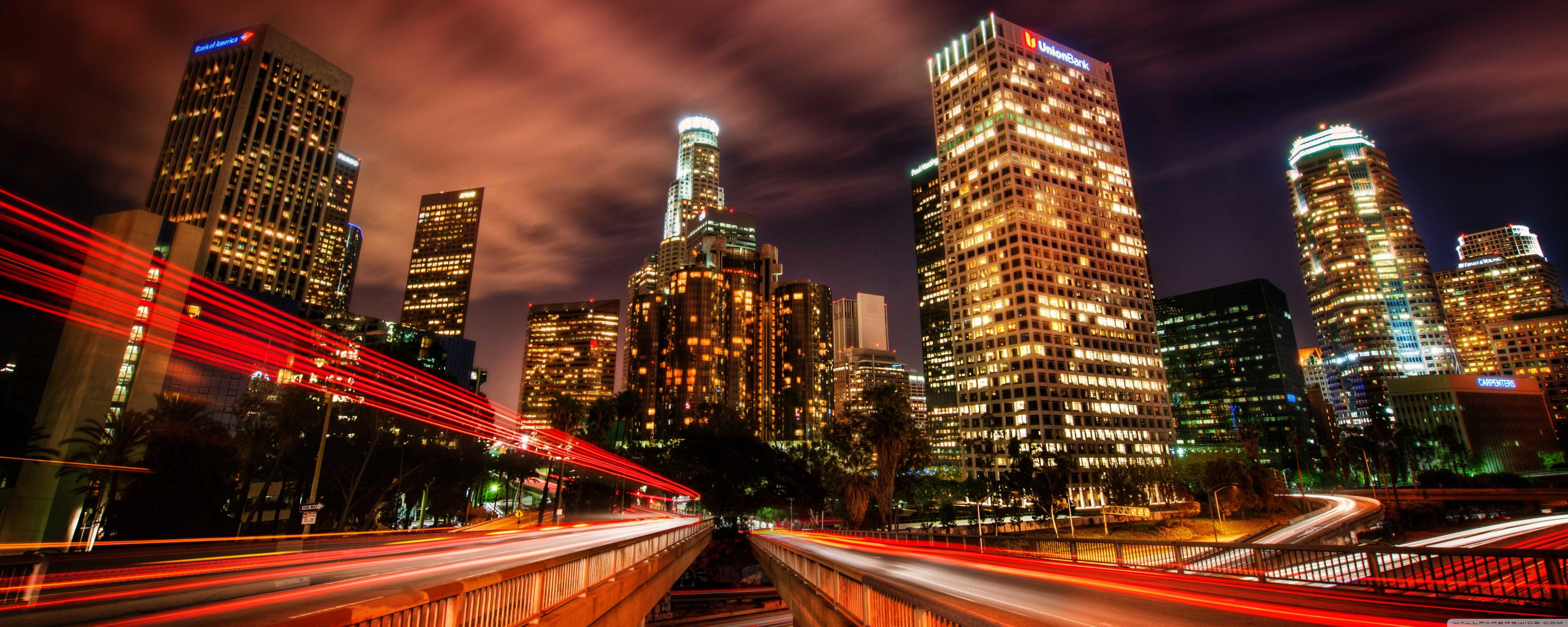Los Angeles Downtown Wallpaper