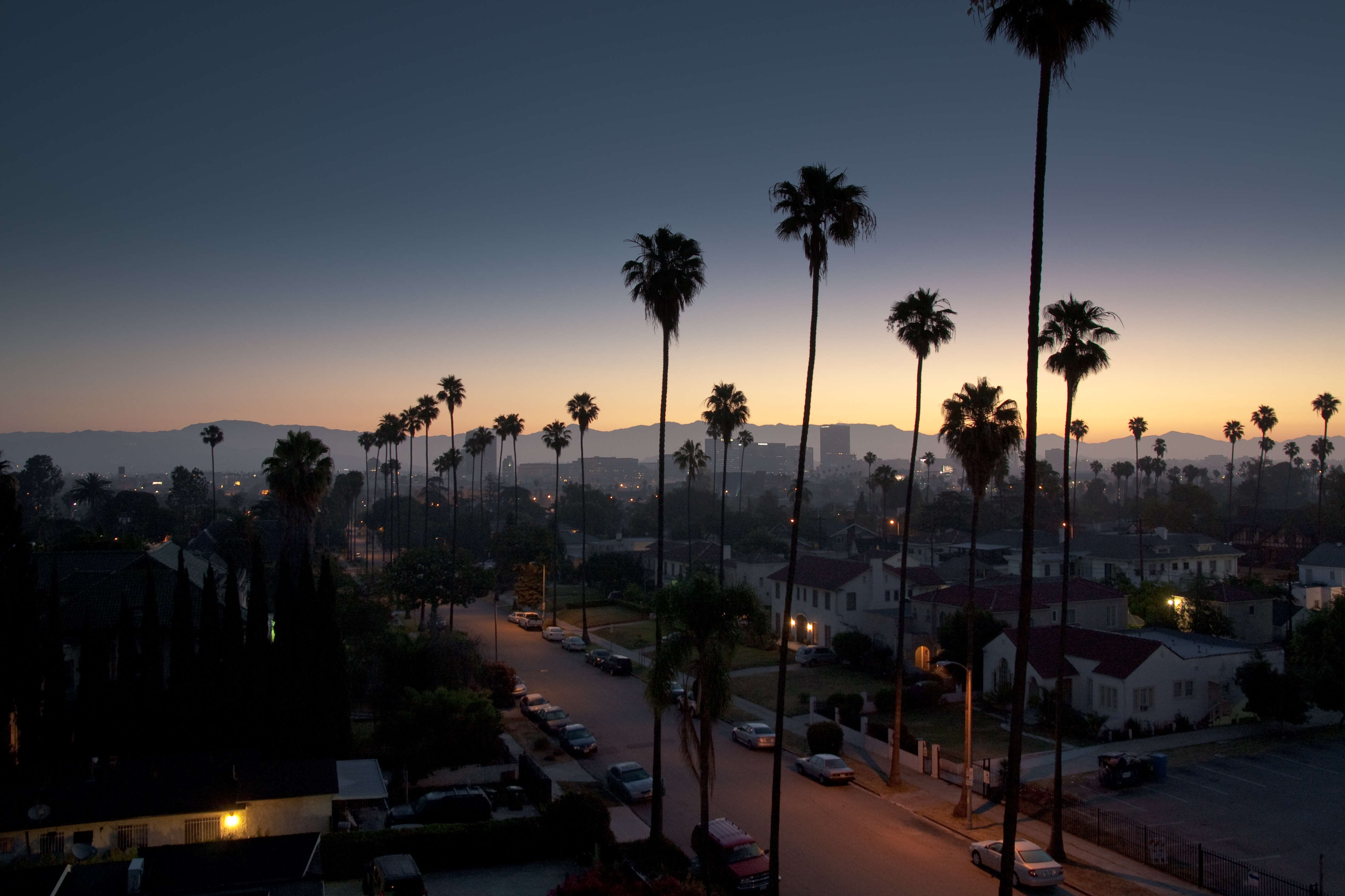 Los Angeles HD Wallpaper