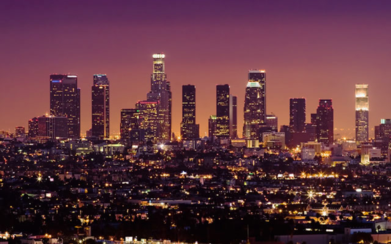 Los Angeles Skyline Wallpaper HD
