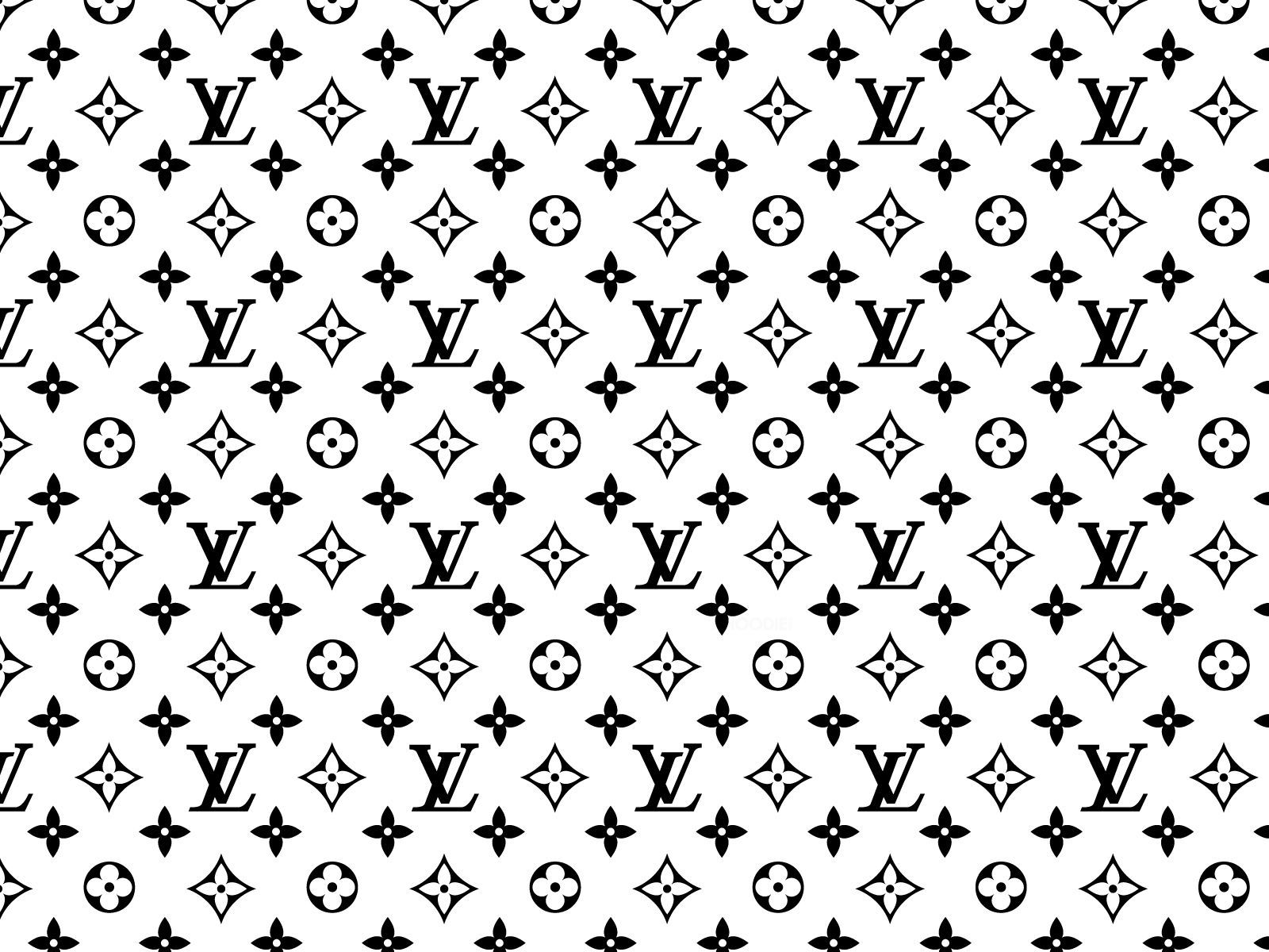Louis Vuitton Wallpaper White