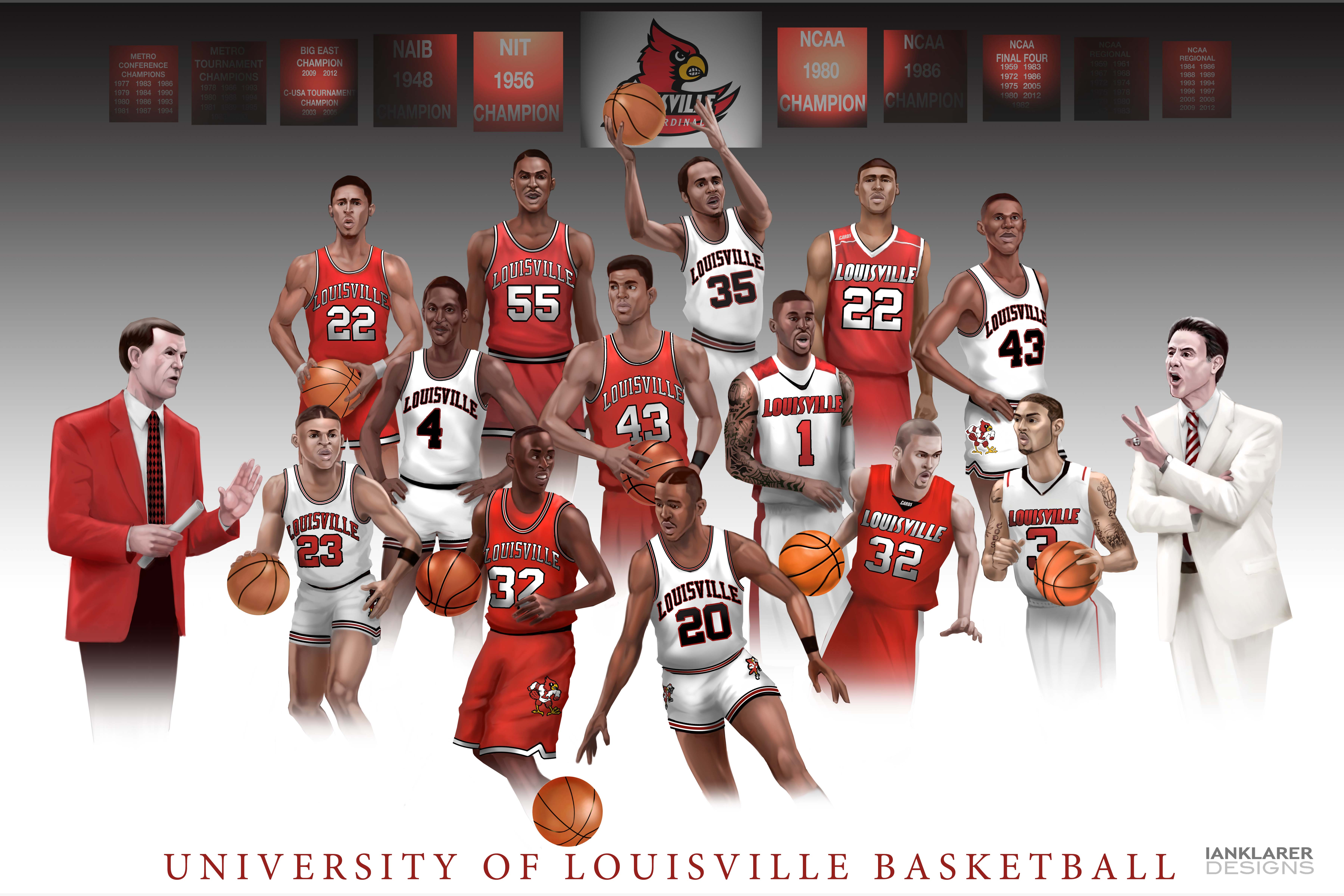 Basketball Louisville   2017, 2018, 2019 Ford Price ...