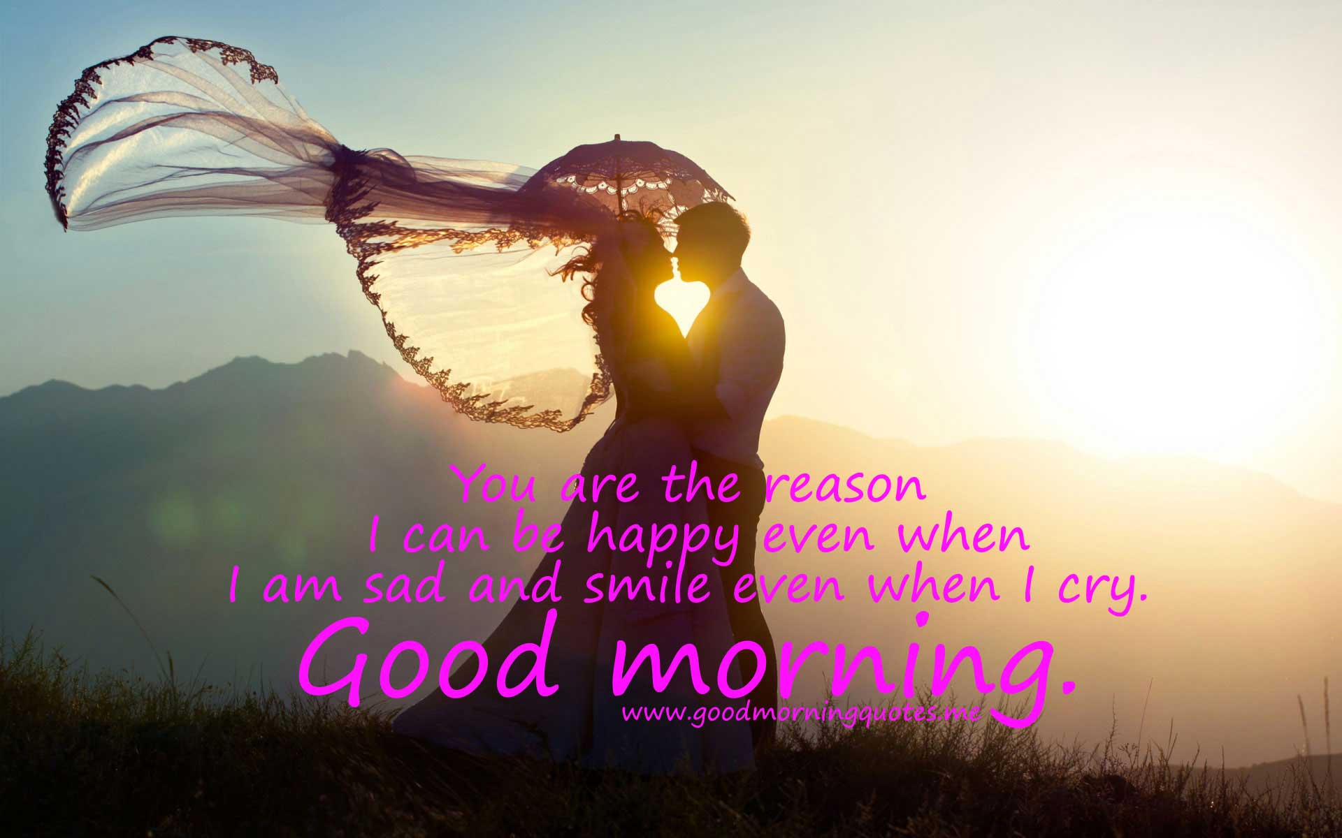 Love Couple Good Morning Wallpaper