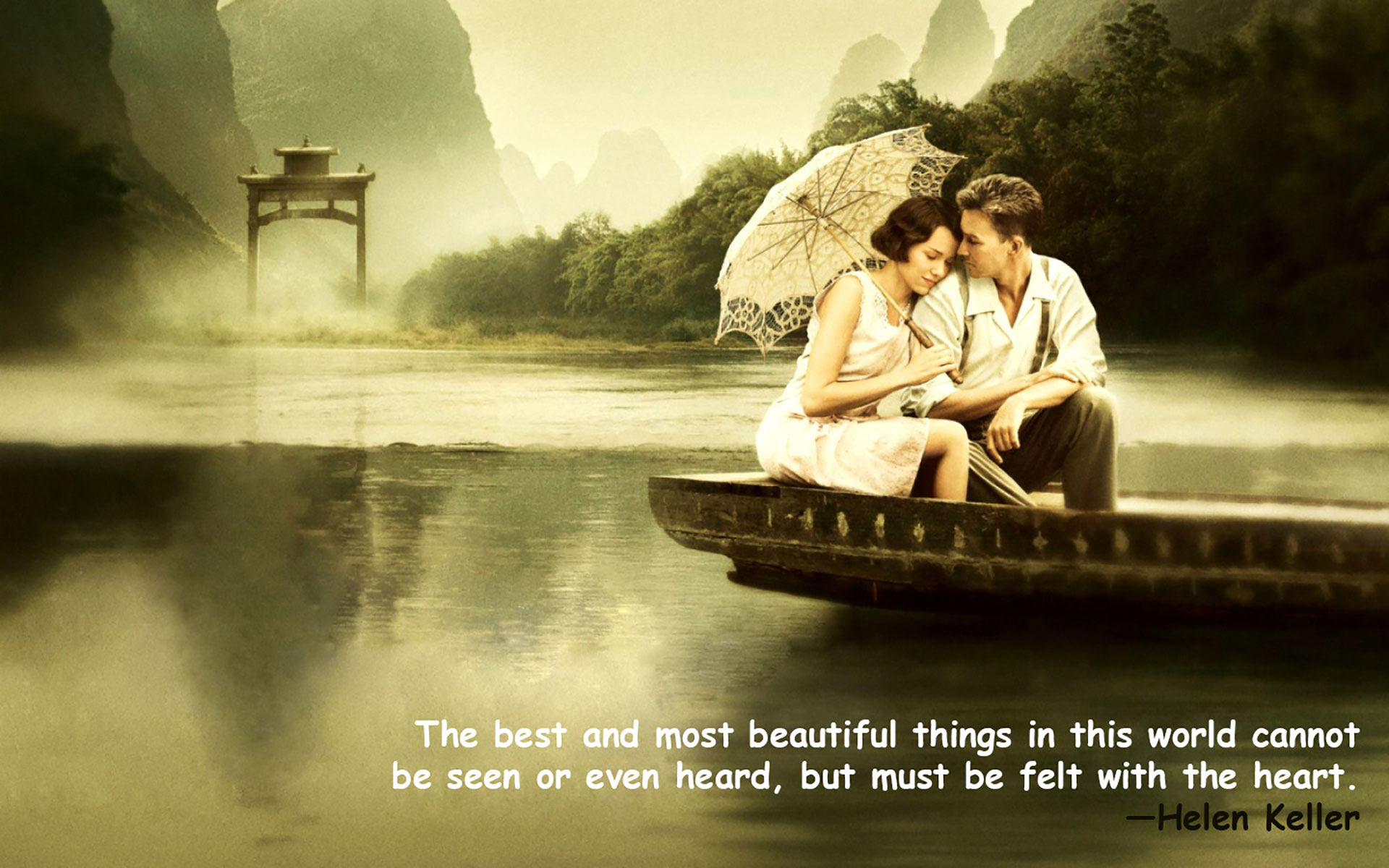 Love Couple Quotes Wallpaper