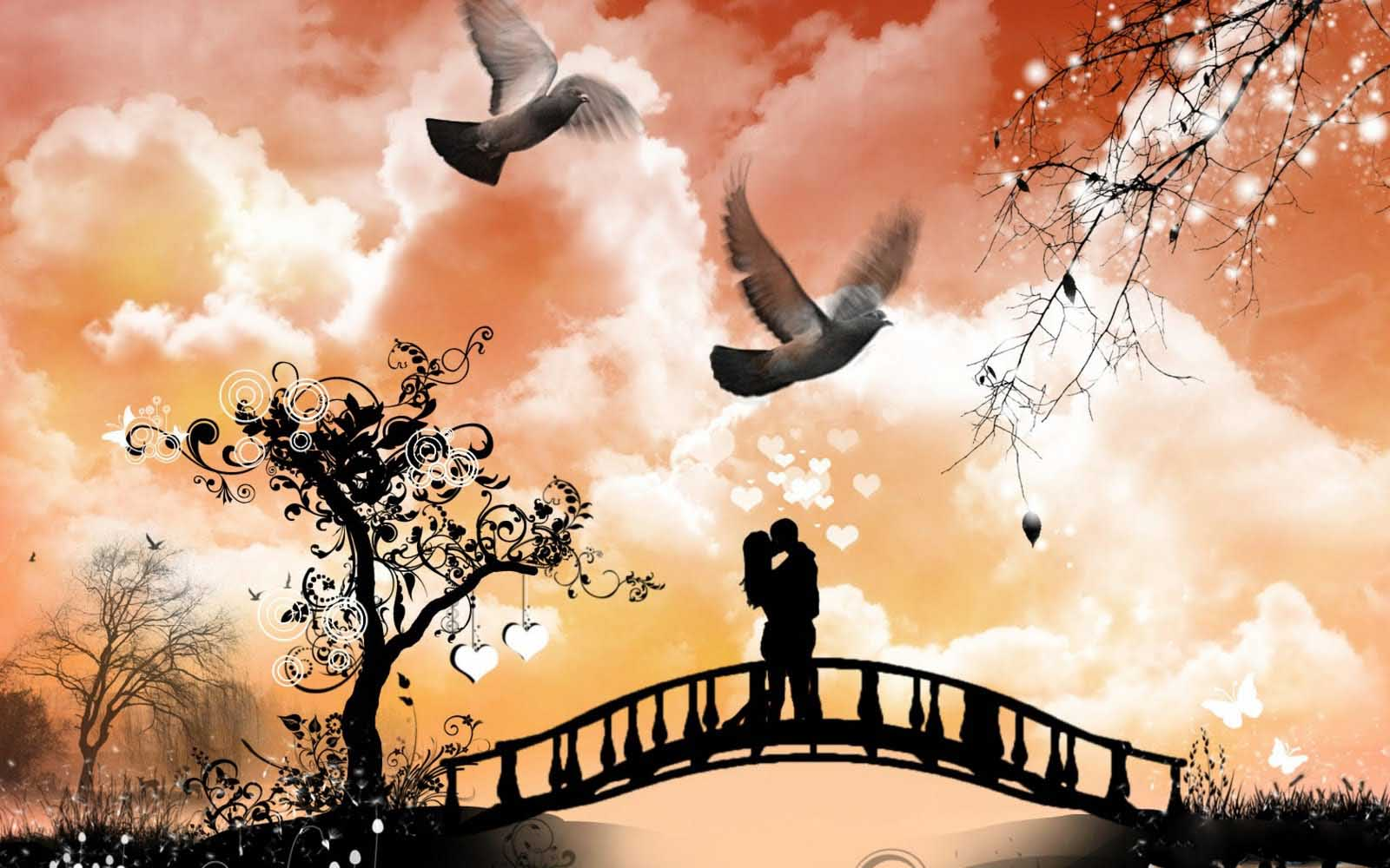 Love Couple Wallpaper 2013