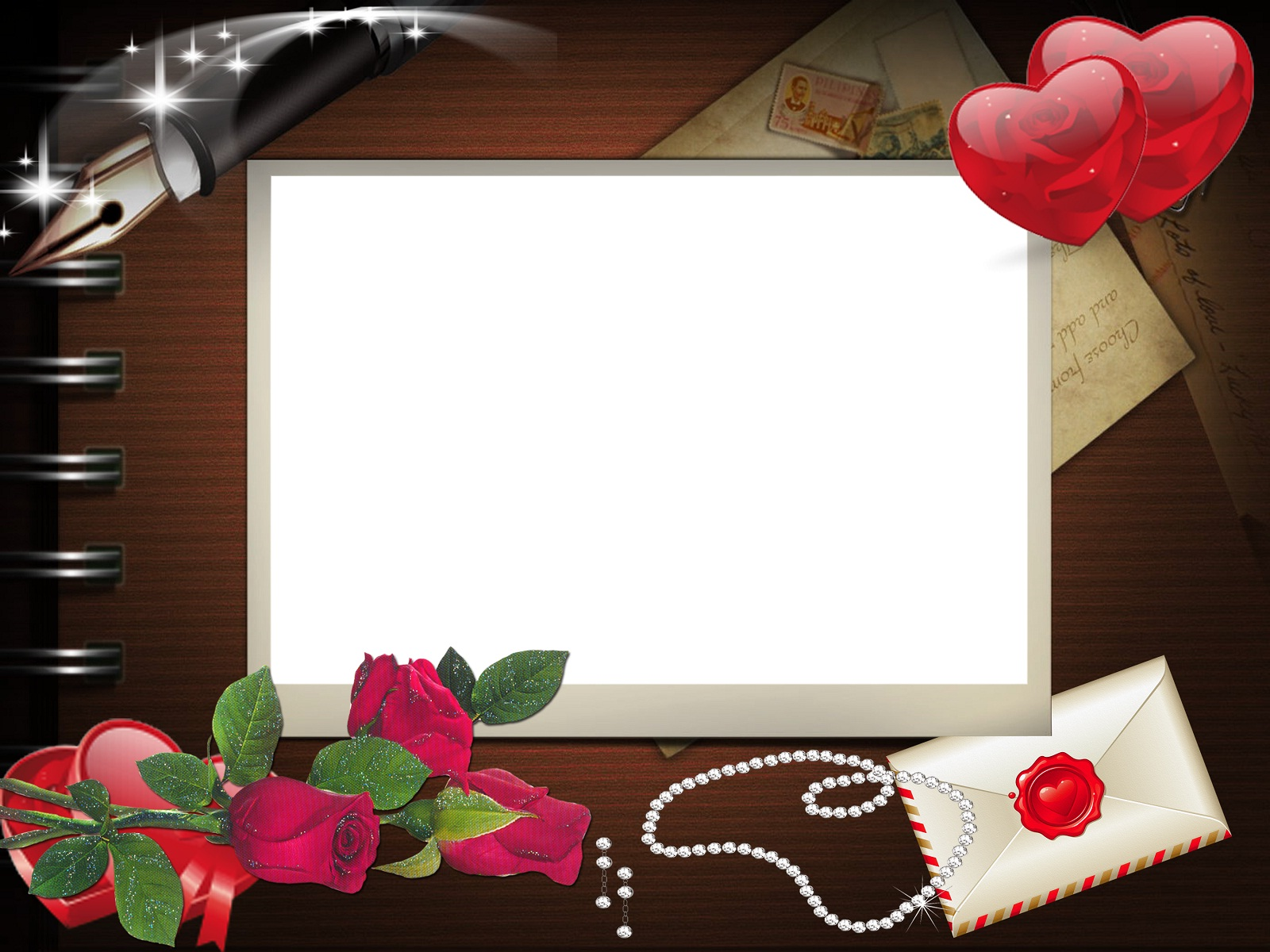 Love Frame Wallpaper