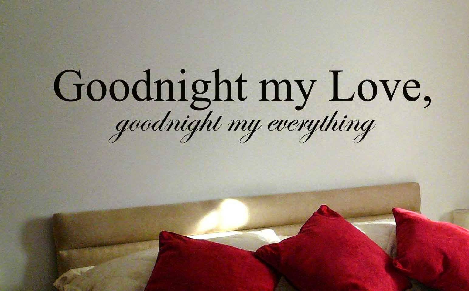 Love Gud Night Wallpaper