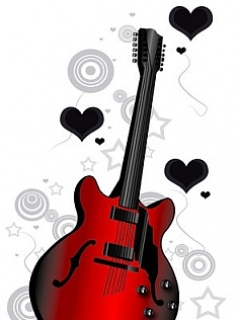Love Wallpaper With Guitar : Download Love Guitar Wallpaper Gallery