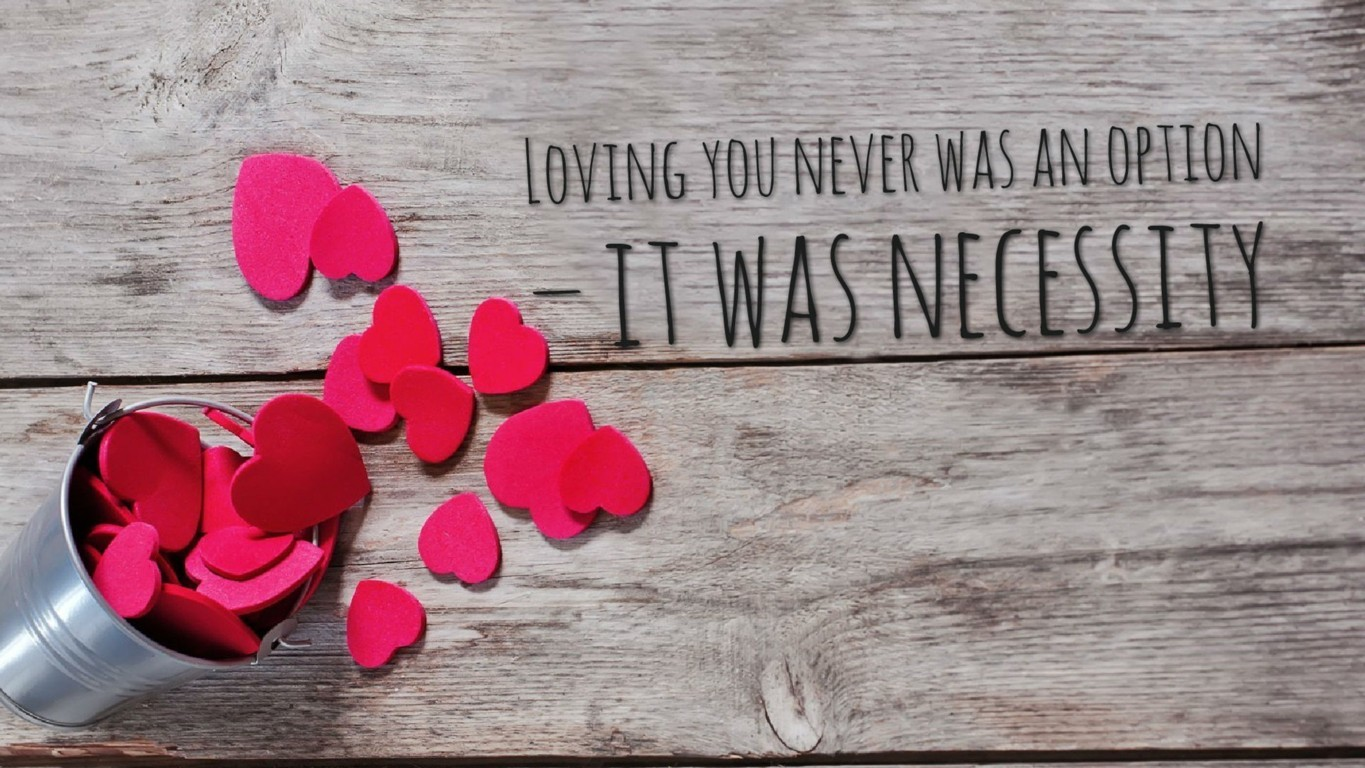 Love HD Wallpapers With Quotes