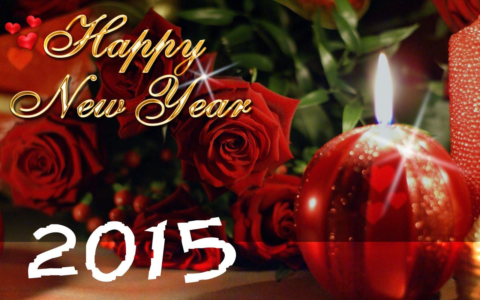 Love Happy New Year Wallpaper
