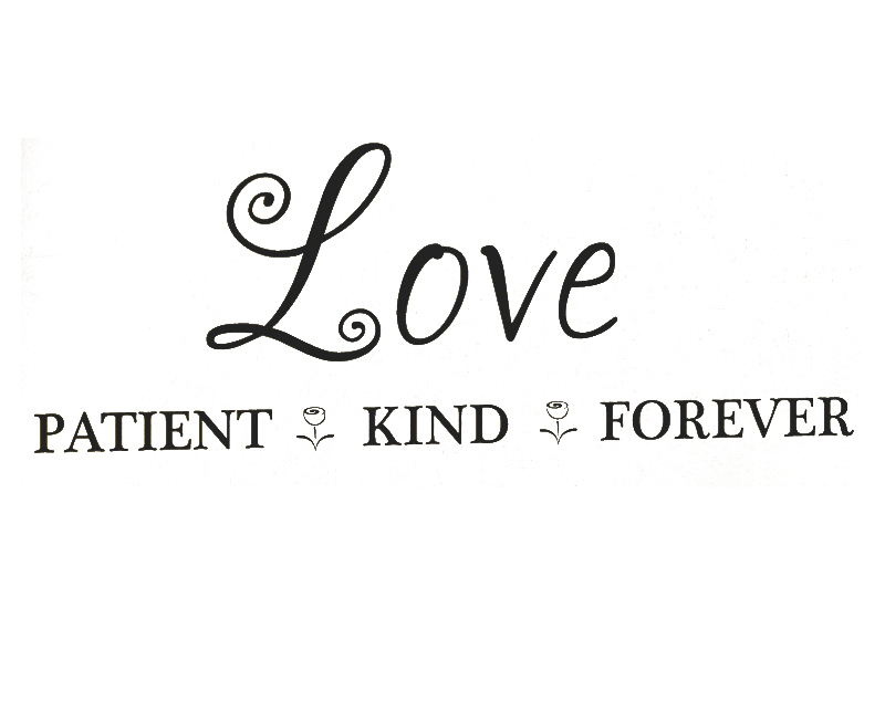 Love Is Patient Love Is Kind Wallpaper Gadget and Pc Wallpaper