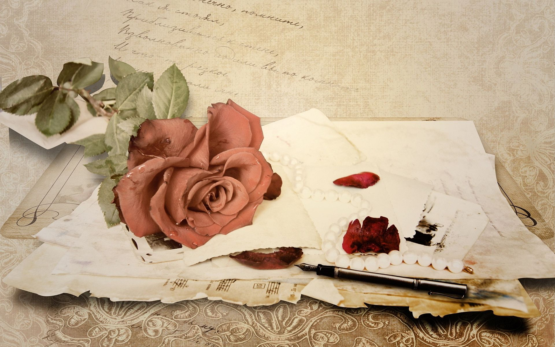Love Letters Wallpaper