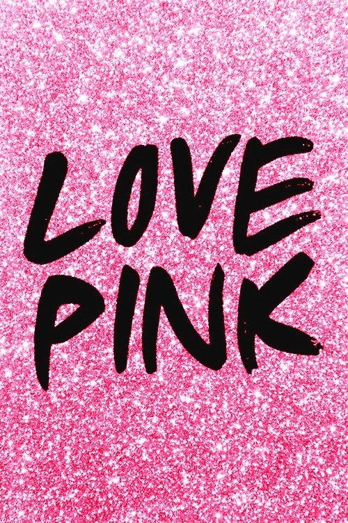 Love Pink Iphone Wallpaper