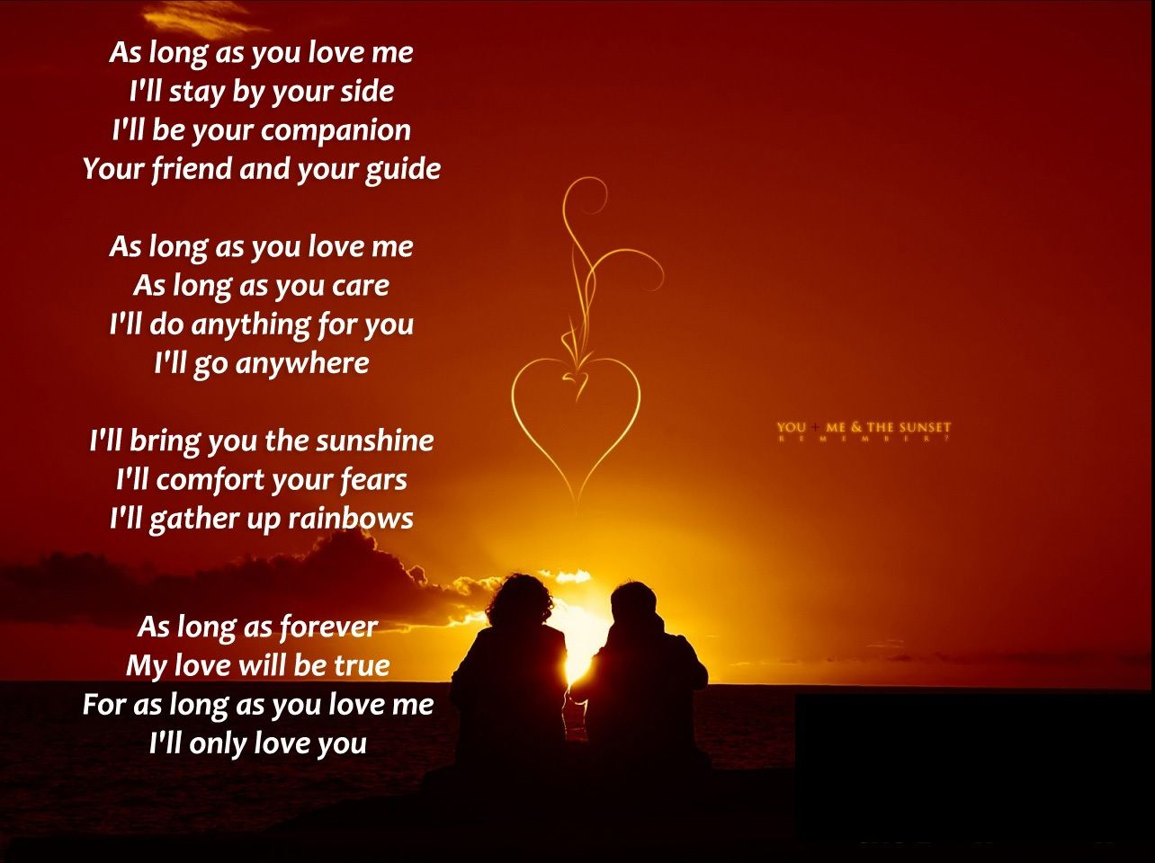 Love Poem Wallpaper