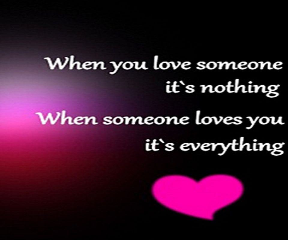 Love Quotes Wallpaper Mobile