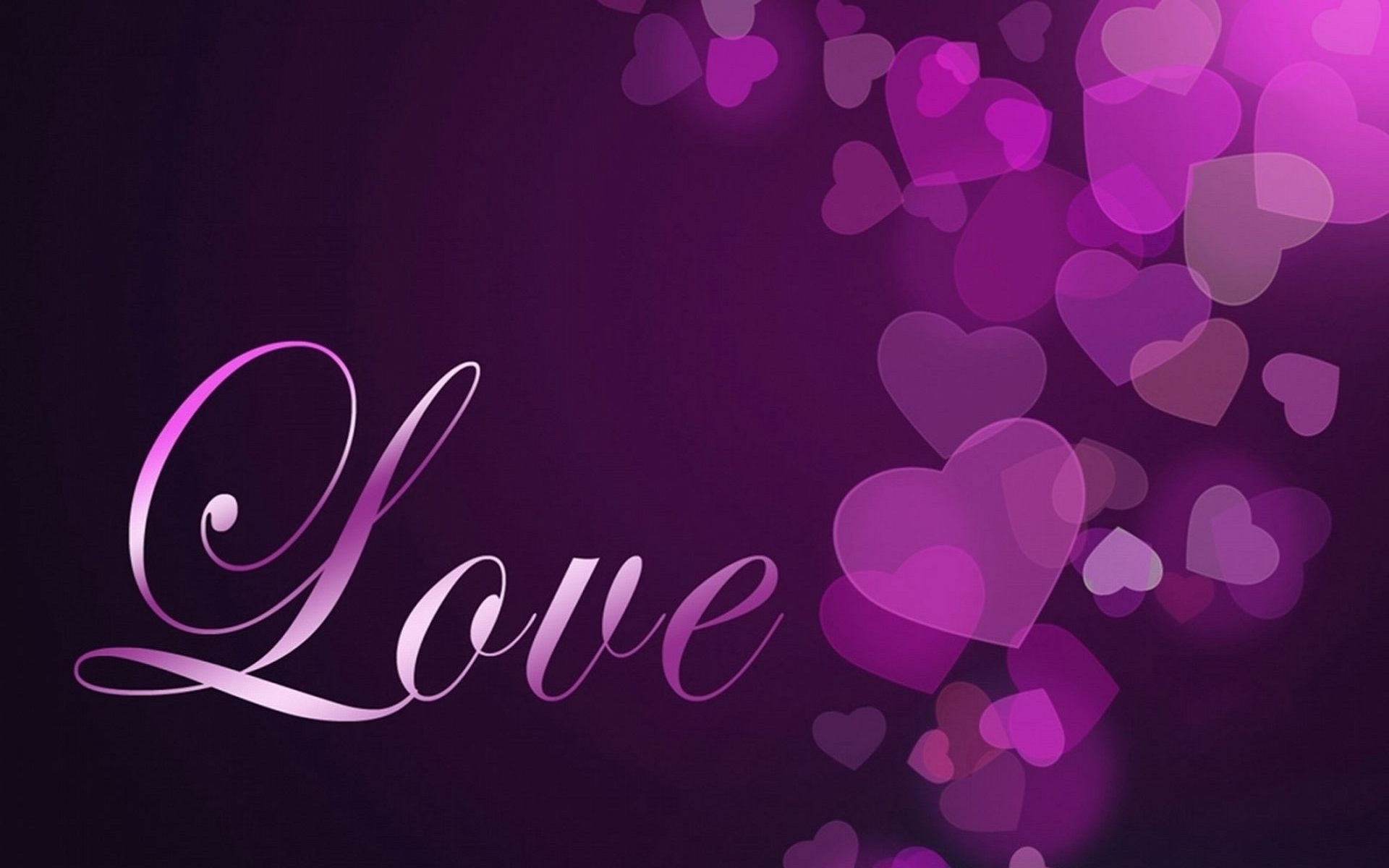 Love Theme HD Wallpaper