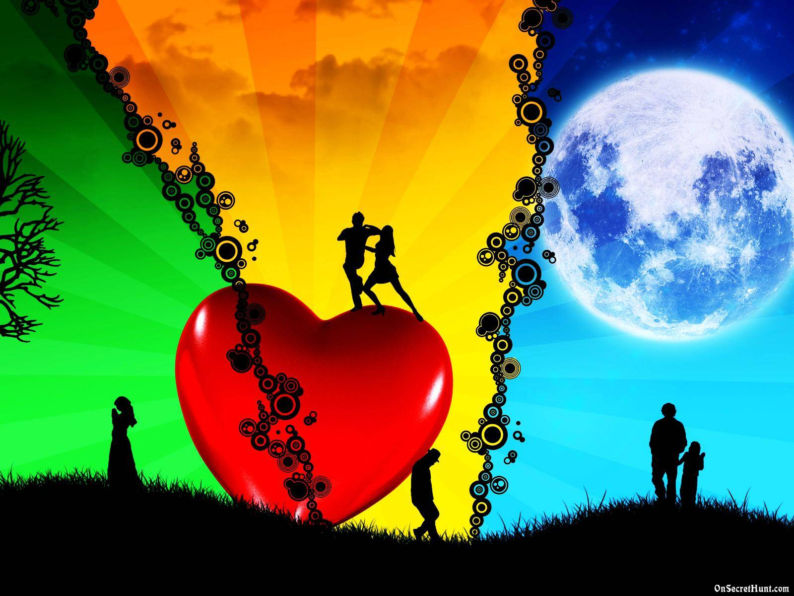 Love Wallpaper 3D HD