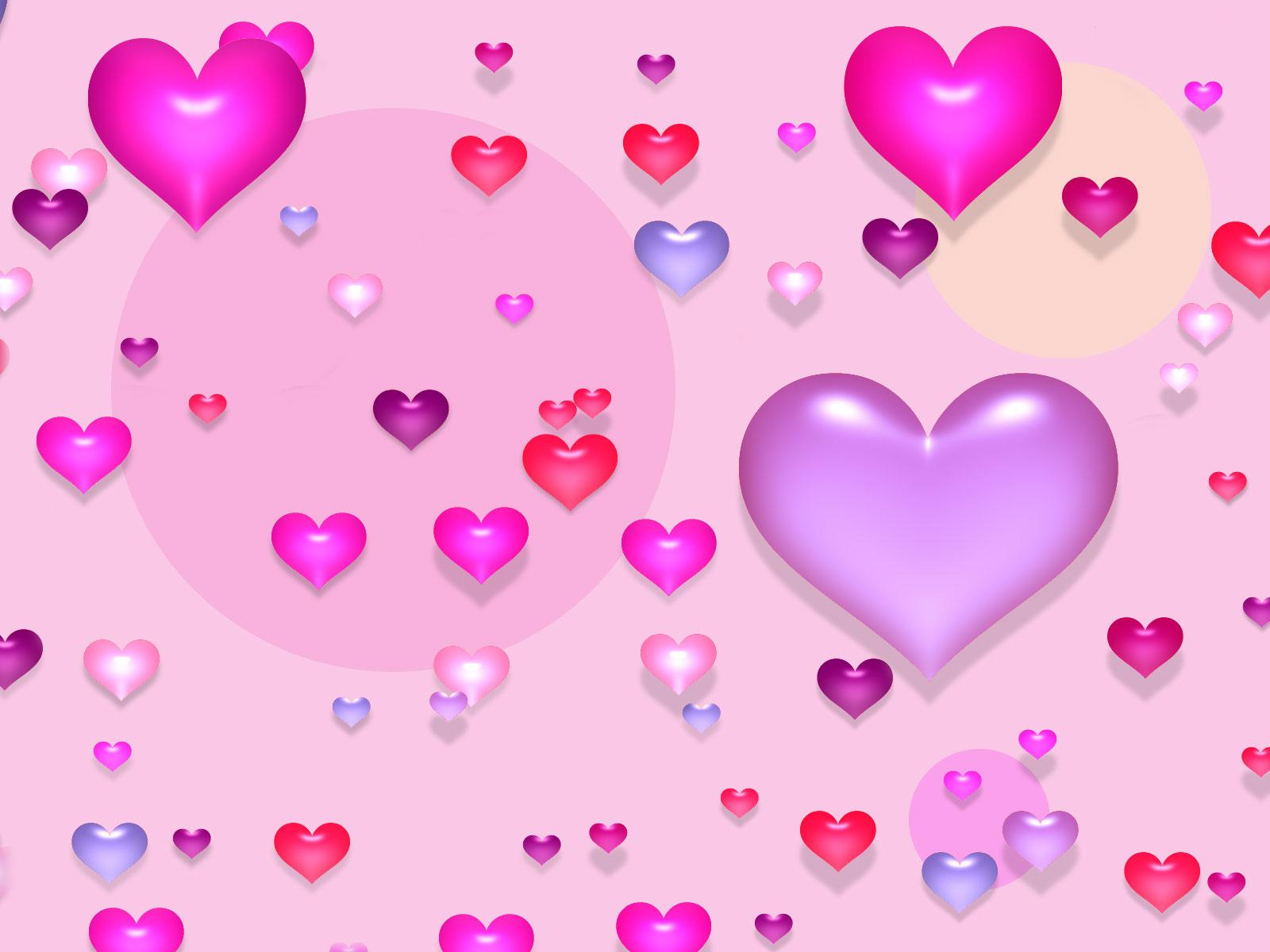 Love Wallpaper Pink