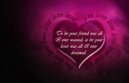 Love Wallpapers With Quotations