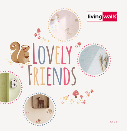 Lovely Friends Wallpaper