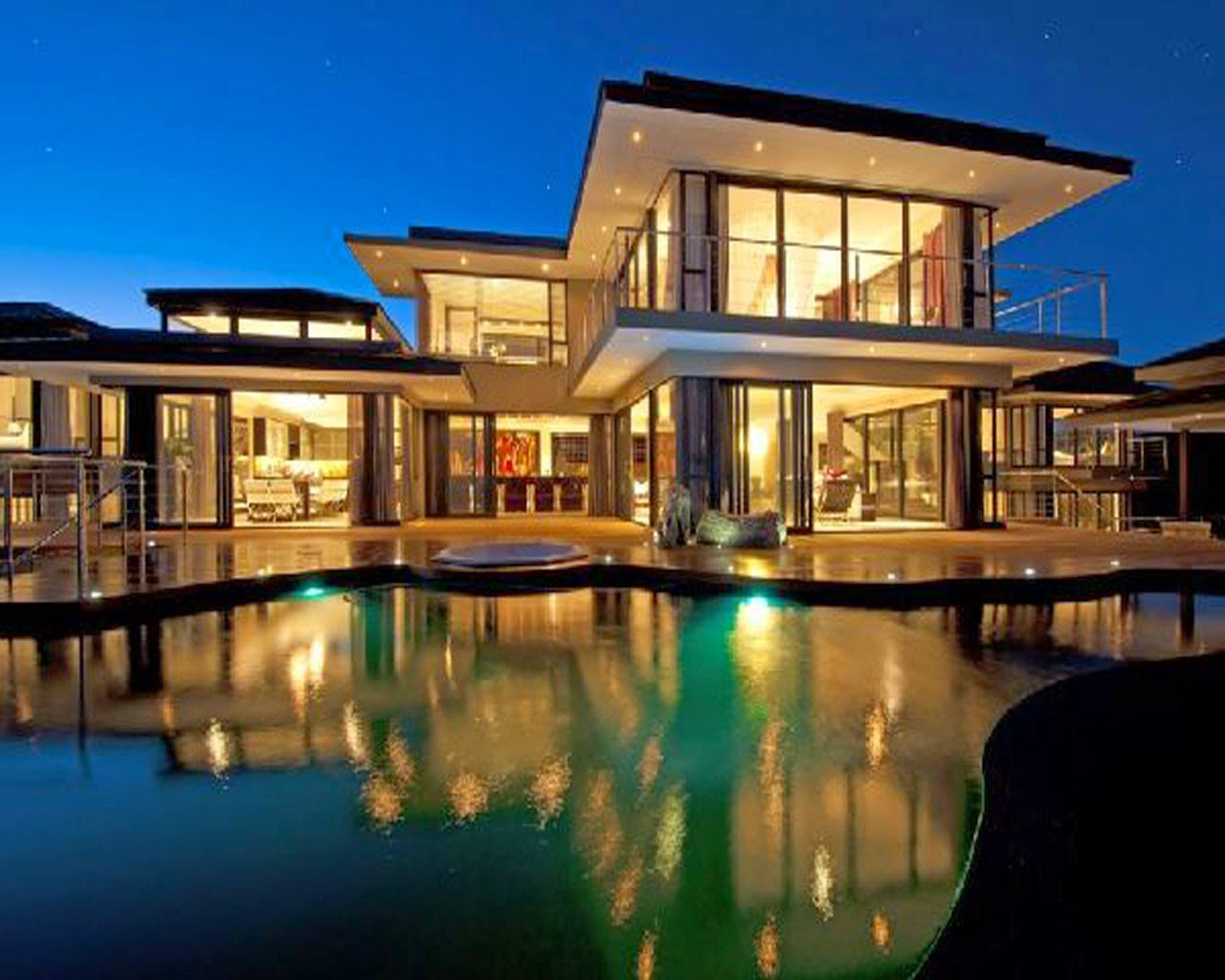 Luxury House Wallpaper HD