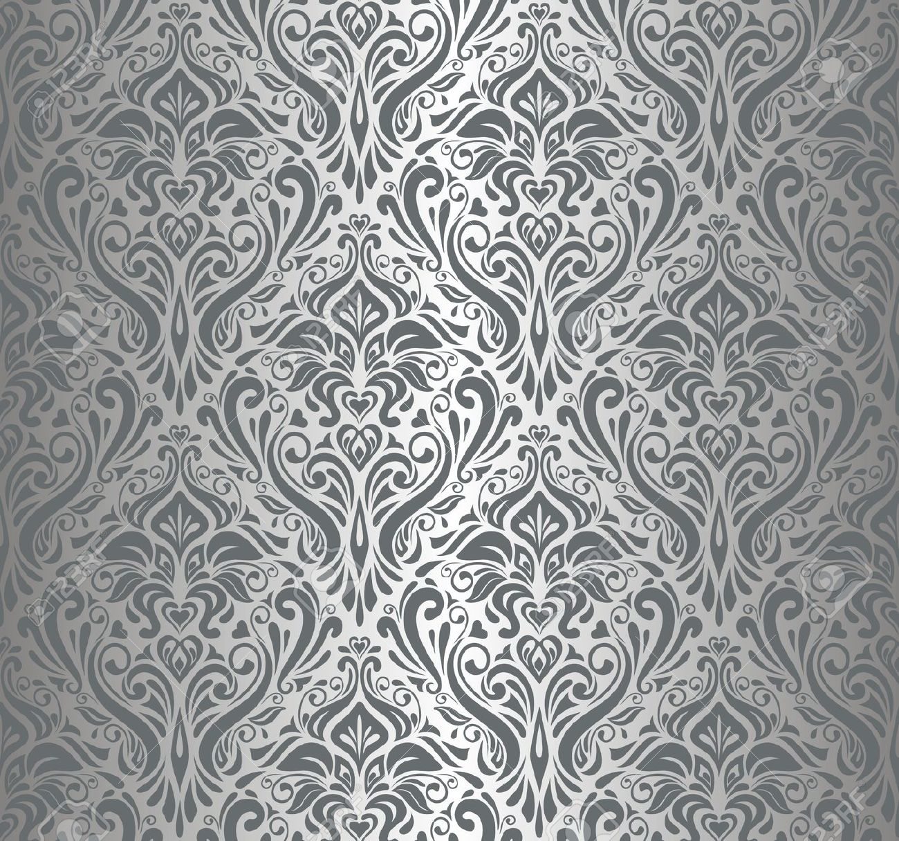 Luxury Silver Wallpaper