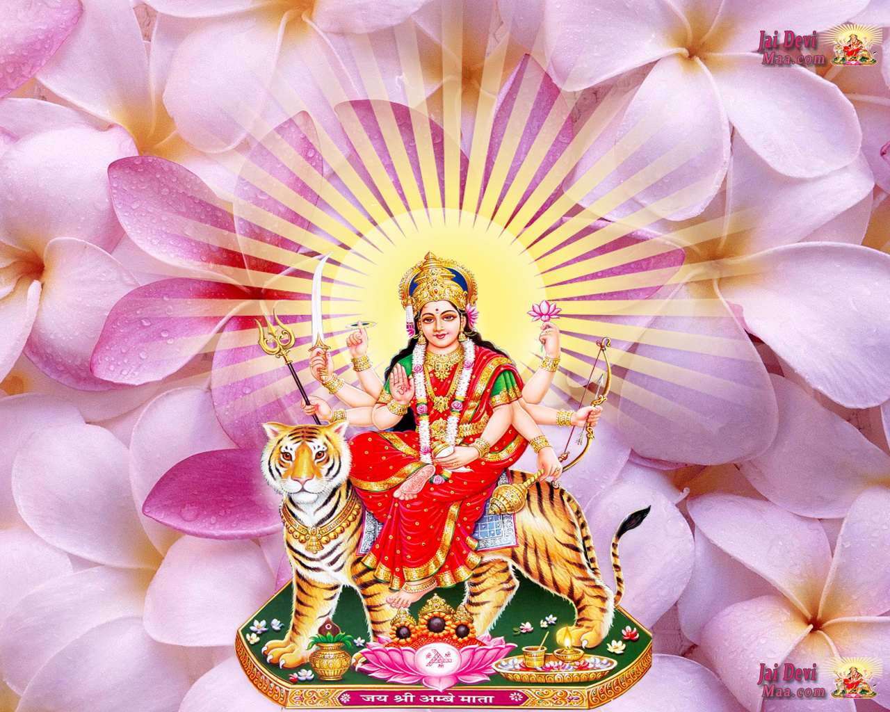 Maa Durga HD Wallpaper Free Download