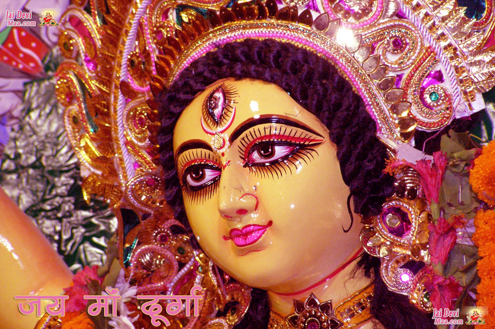 free download desktop wallpaper of maa durga