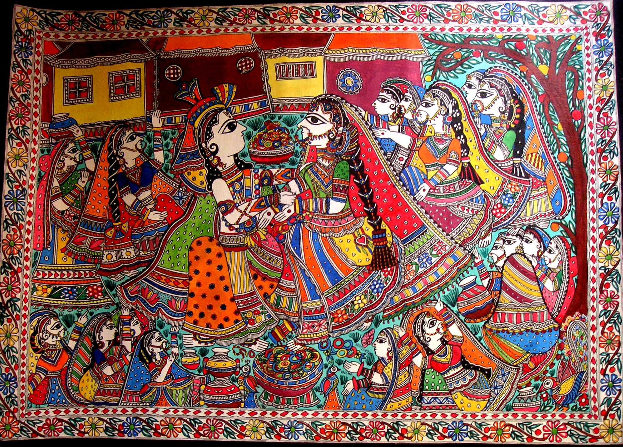 Madhubani Painting Wallpapers