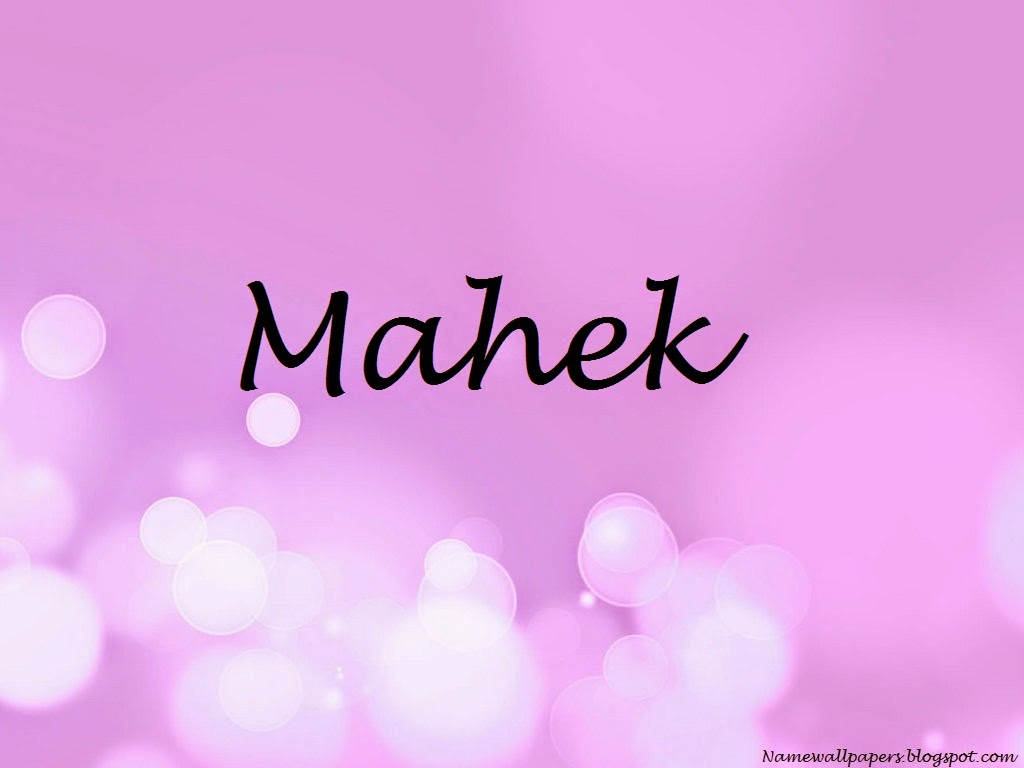 Mahek Name Wallpaper