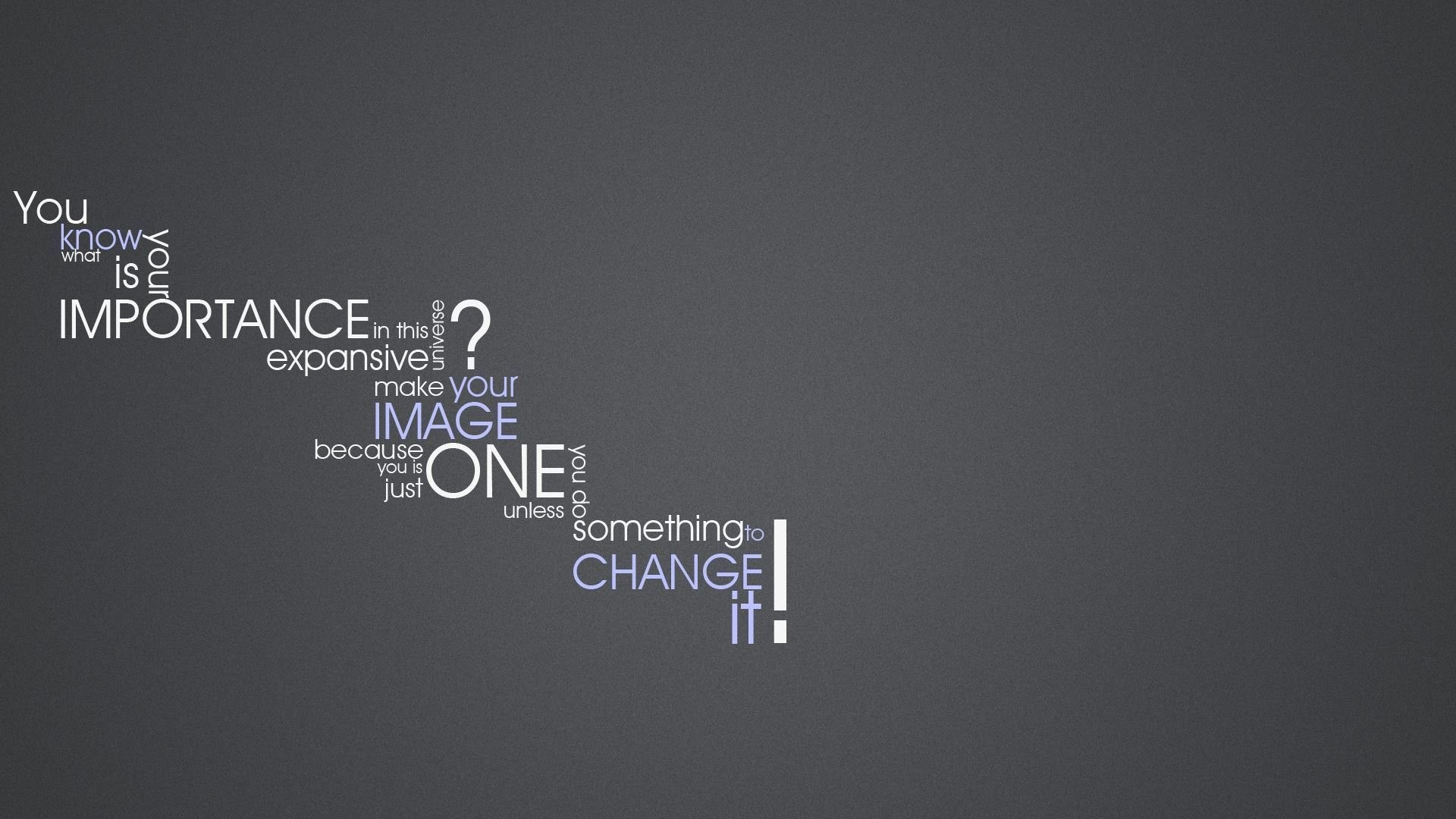Make A Text Wallpaper