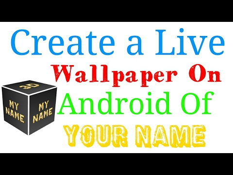Making A Live Wallpaper For Android