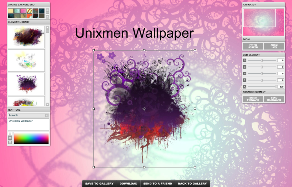 Making Your Own Wallpaper