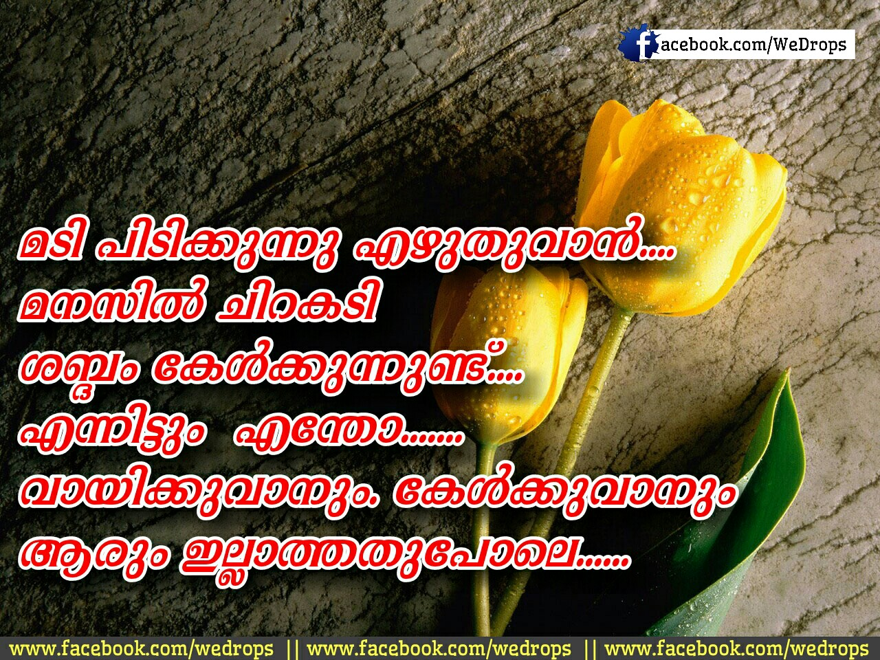 Malayalam Love Quotes Wallpapers