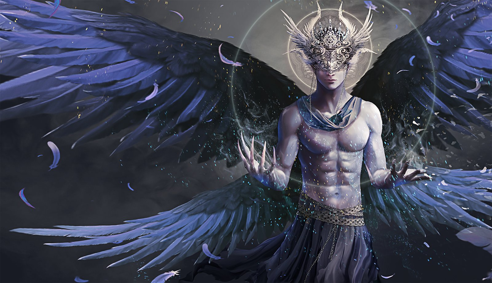 Male Angel Wallpaper