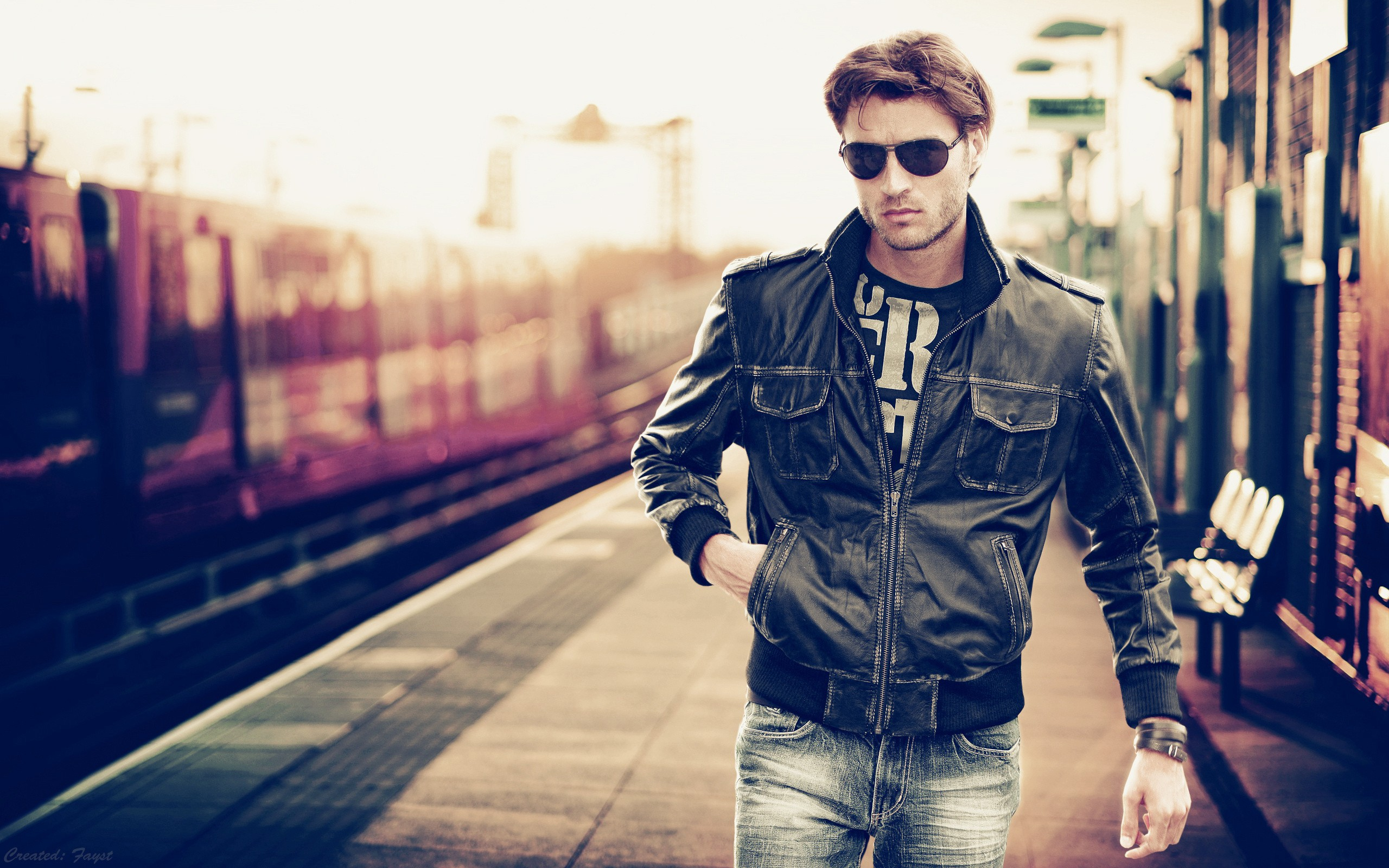 Males Models Wallpapers