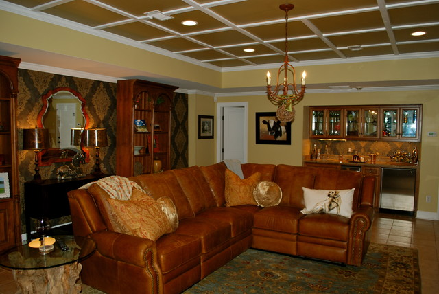 Mancave Ideas Basement Bar Designs