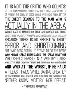 Man In The Arena Wallpaper