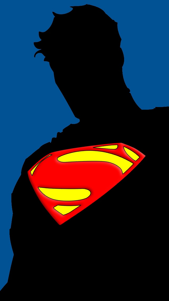 Man Of Steel Wallpaper For Iphone 5