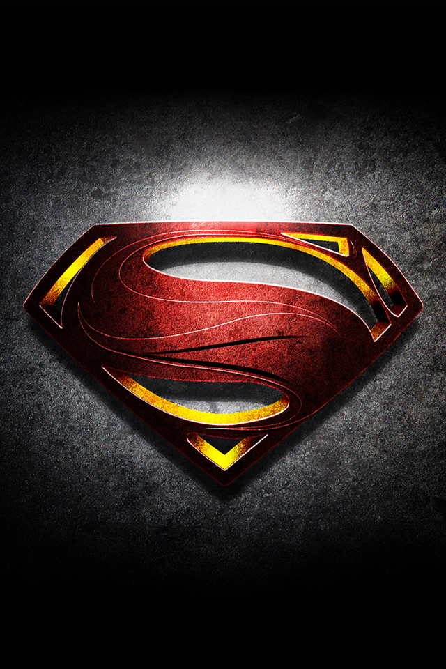 Man Of Steel Wallpaper For Iphone