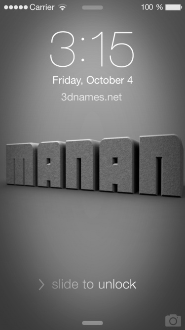 Manan Name Wallpaper