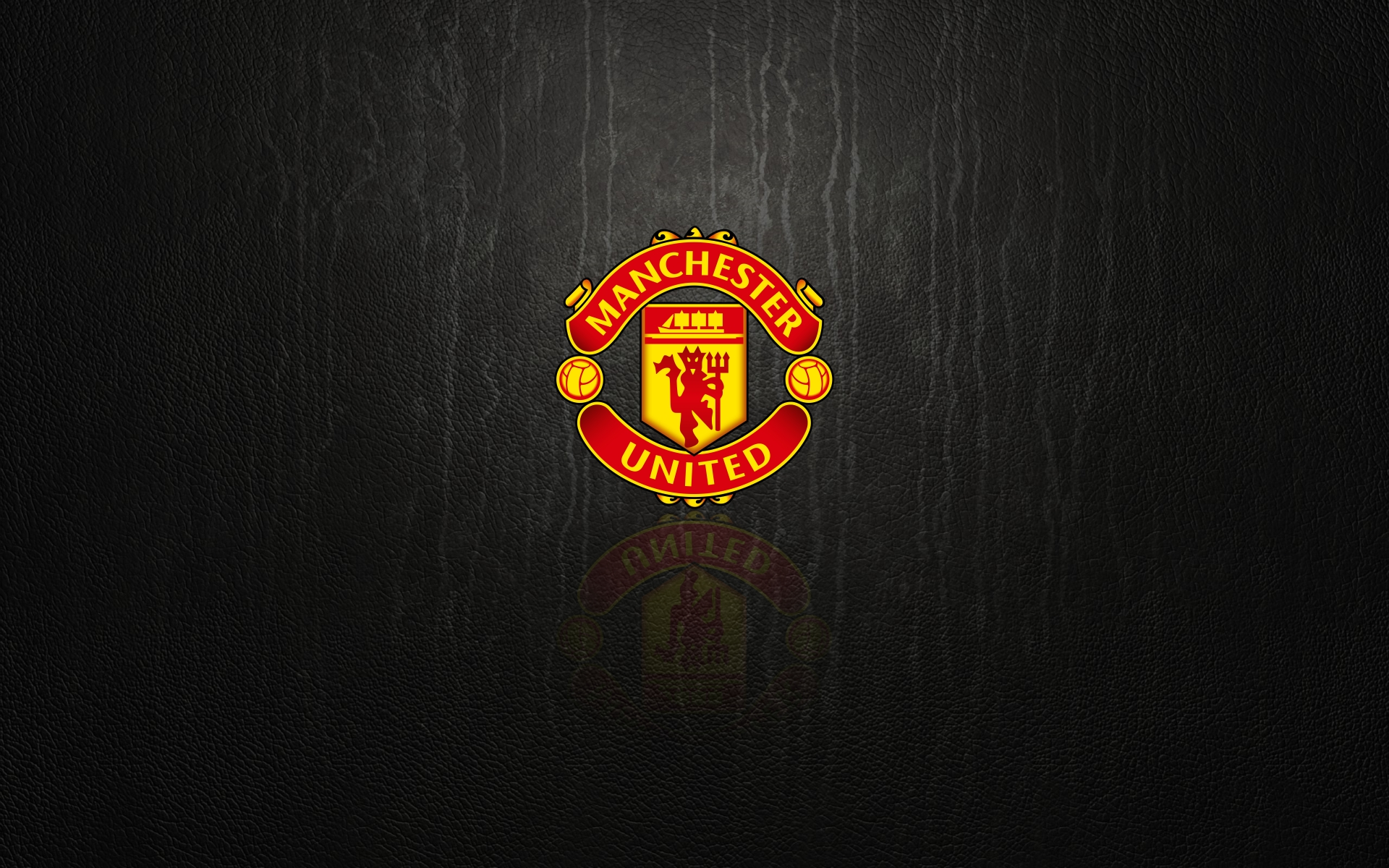 Manchester united wallpaper black