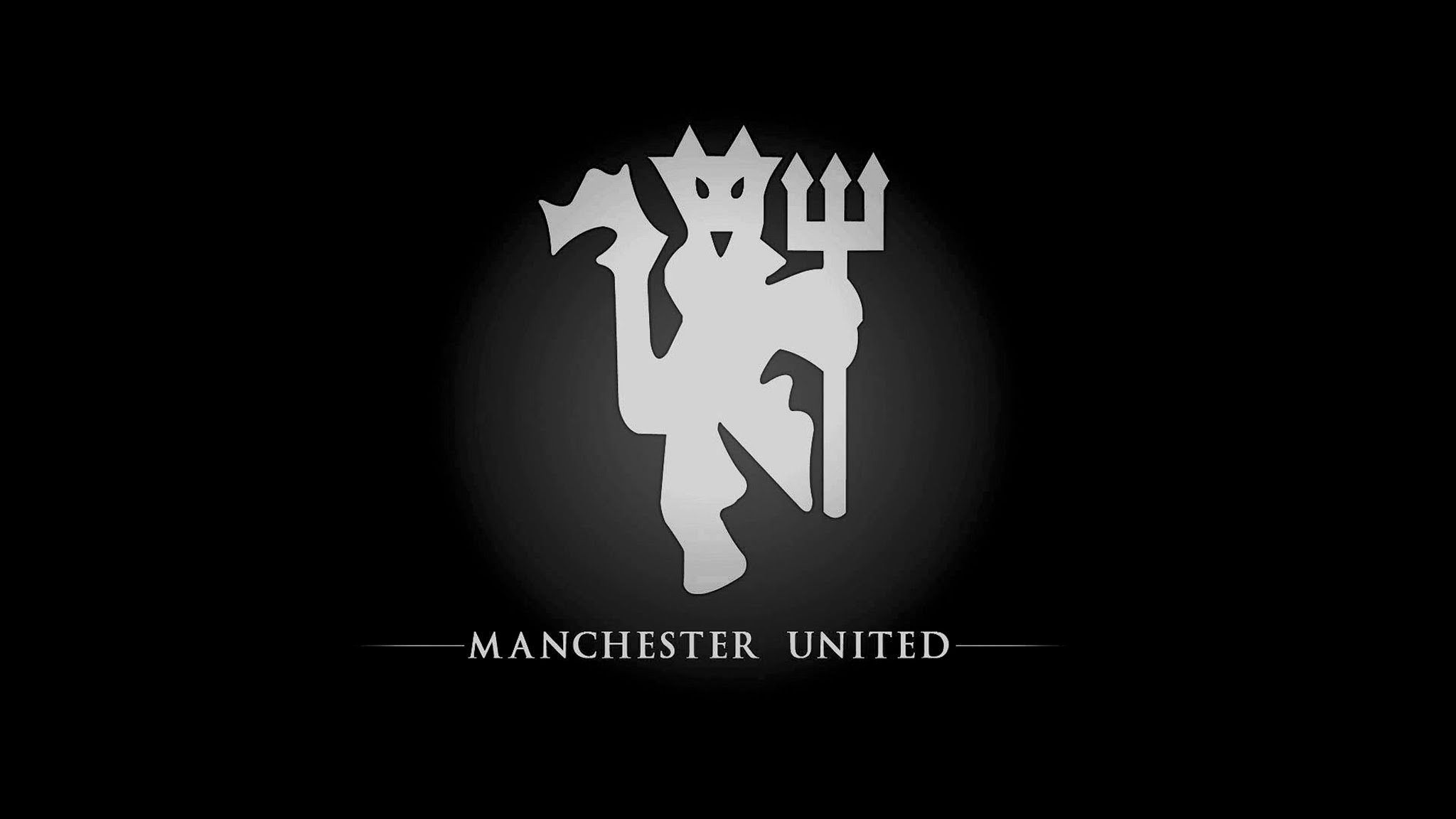 Manchester United Black Wallpaper