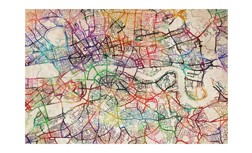 Map Of London Wallpaper